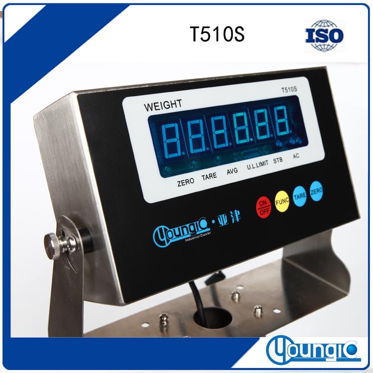 亚津T510S不锈钢防水显示器的标定方式