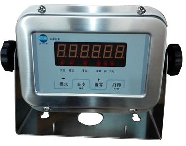 亚津2065不锈钢显示器的标定方式