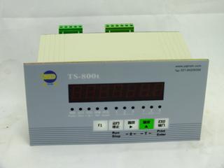 亚津TS800t控制显示器的标定方式