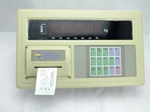亚津HDP带打印功能汽车衡显示器的标定方法