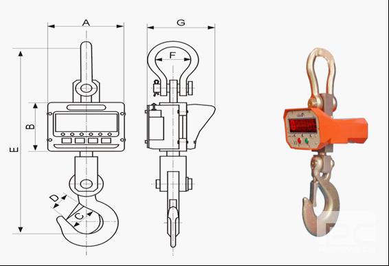 浅析电子吊秤整体结构设计
