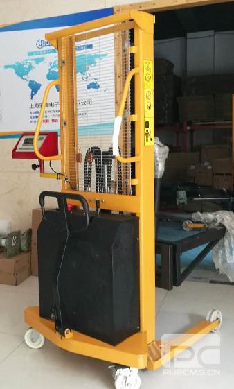 农夫山泉广东分公司采购全电动倒桶秤
