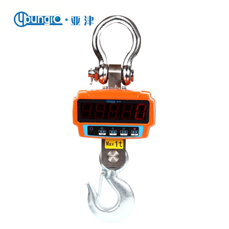 电子吊秤的结构设计对安全的重要性