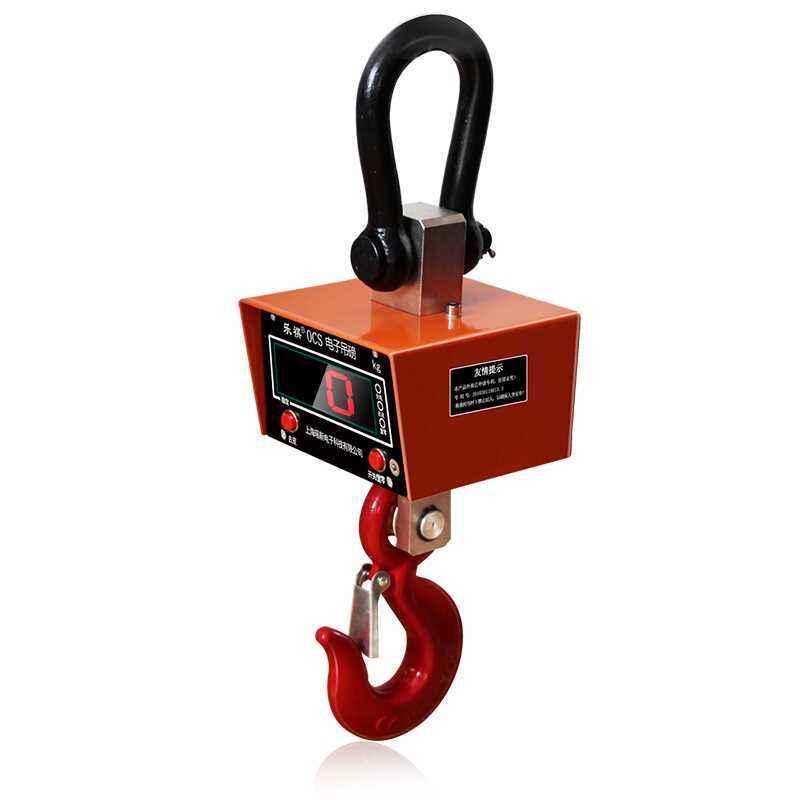 20T耐高温电子吊秤常见的几个问题有哪些?如何解决?